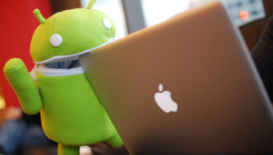 Android, grows, ios falls
