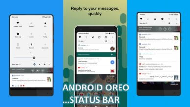 Android Oreo Status Bar