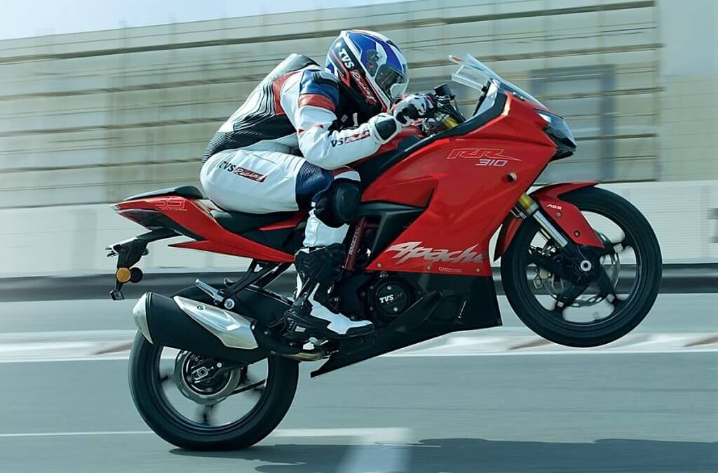TVS Apache Delivery